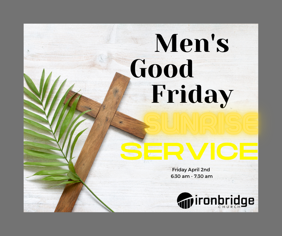 Ironbridge Men's Good Friday Sunrise Service